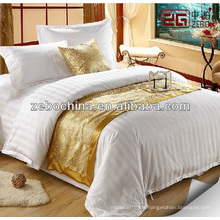 hotel decorative bed runner and throw cushion