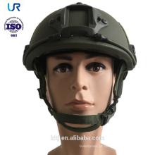 Capacete balístico militar da bala do exército de Kevlar do RÁPIDO