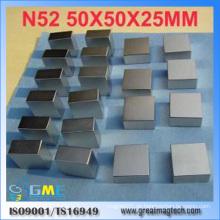 Seltenerde F50X50X25mm Neodym-Block-Magnet
