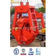 Механический грейфер электрические две веревки для дноуглубительных работ