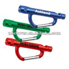 promotion led carabiner flashlight / carabiner keychain flashlight / carabiner keychain flashlight