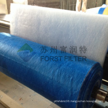 FORST High Quality Air Filter Media Fiberglass Floor Filters for Spray Booth