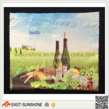 Салфетки из микрофибры по индивидуальному заказу на заводе (DH-MC0409)
