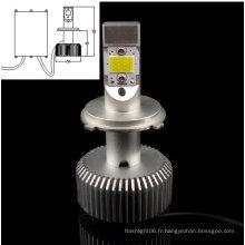 H4 COB 30W Blanc AC/DC8-28V Lumière de voiture LED remplaçable