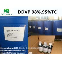 Insecticida / plaguicida DDVP / DDV / diclorvos / Vapona 98% TC, 95% tc, 80% ec, 50% ec, 1000 g / Lec-lq