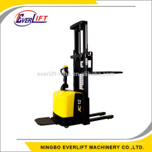 1200kg 1400kg 2m 2.5m 3.3m 4m AC with EPS CDD12 CDD14 Powered pallet stacker with CE