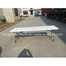 8FT Folding in Half Table for Party Use or Other Events