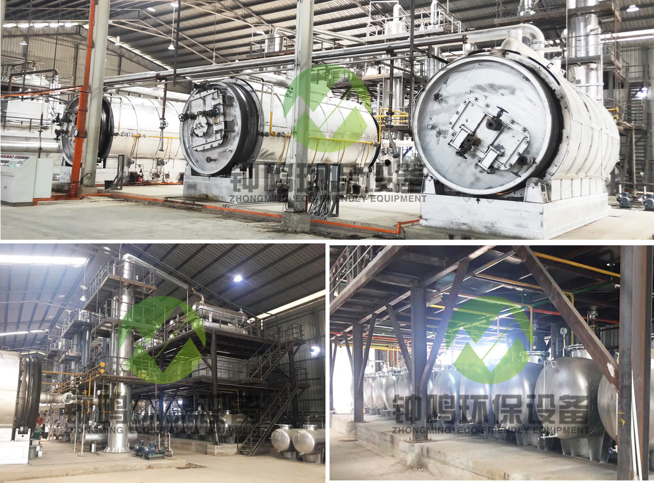 Crude Waste Oil Refining Extraction Purification Process Machine