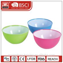 Kunststoff Salatschüssel mit Klangfarbe