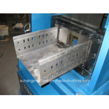Customize Ce&ISO Quality Sloted Type Cable Tray Holder Making Machine