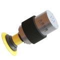 Auto parts bumper grinding polishing active contact flange