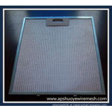 Filtros de alumínio / de aço inoxidável da capa da exaustão da cozinha
