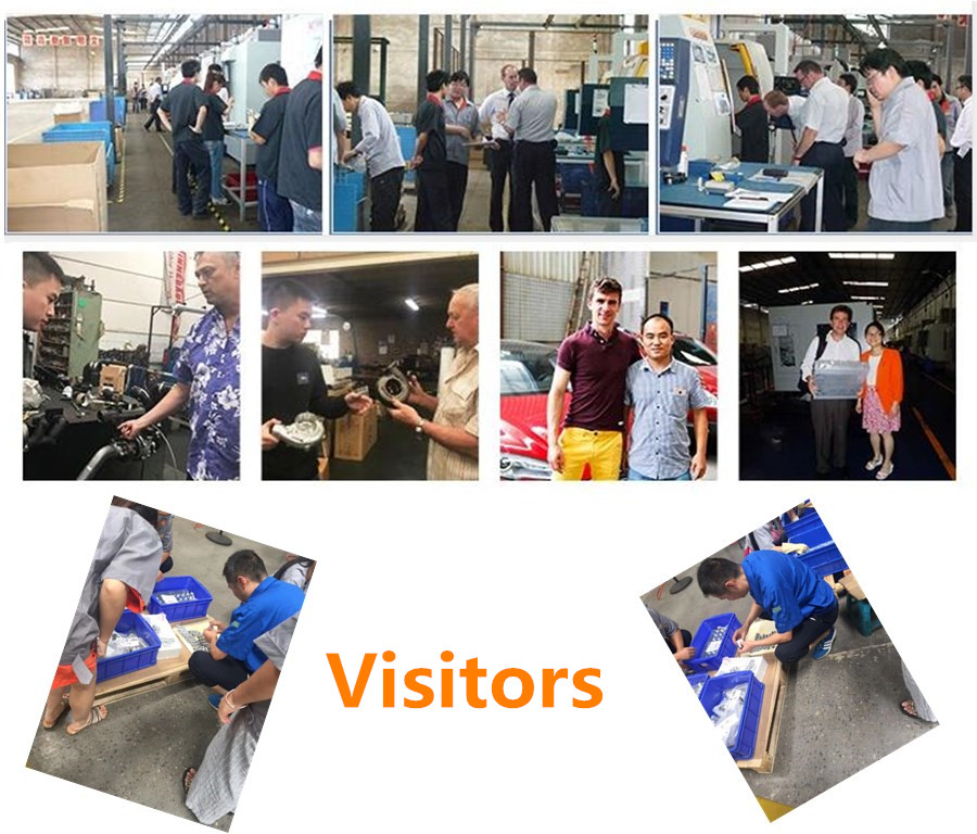 cnc machining factory visitors