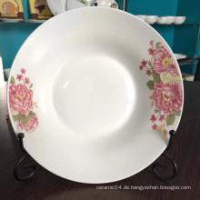 Linyi Keramikplatte, chinesische Keramikplatte, Suppenteller