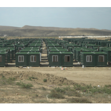 Easy to Install Container Camp Military Modular House