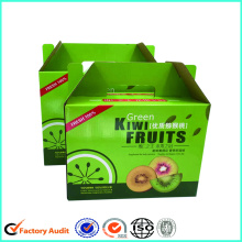 Wellpappe Kiwi Fruit Verpackung Box