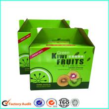 Corrugated Paper Kiwi Fruit Packaging Box