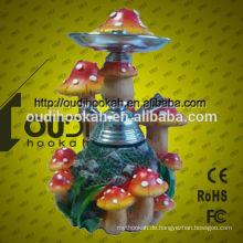 2014 Neues Design Huka Shisha Porzellan Großhandel Glas Rauchen Pfeifen Harz Huka