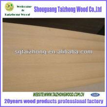 Contraplacado de folheado de madeira de tecelão de álamo