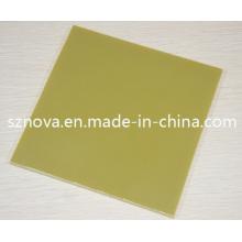 Hoja laminada de vidrio de la tela de Epoxy G11 / Epgc203 / Hgw2372.2 / Epgc3