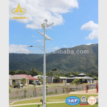 Wind and Solar Power Light Steel Pole