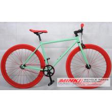 Bicicleta simple de la velocidad fijó la bicicleta de Fixie del marco del engranaje