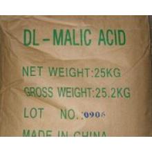 White Crystal 99% Ácido Dl-Málico para Food Grade (Nº CAS: 617-48-1)