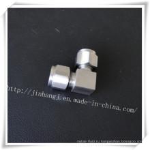 Угловой соединитель с двойными кольцами, фитинги для компрессионных трубок
