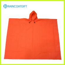 Lightweight EVA pluie Poncho couleur Orange EVA Rain Cap Rvc-004