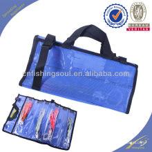 FSBG002 personalizado señuelo de pescado con cierre de cremallera bolsa de bolsas de plástico para la pesca señuelo faldas señuelo bolsa