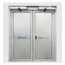 Inward and outward  Directly opening  way  automatic door opener