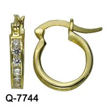 Nuevos pendientes de cobre de la joyería del modelo con precio competitivo de la fábrica