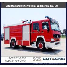 Главный sinotruk HOWO с колесной формулой 4х2 пожарных