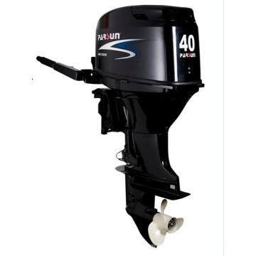 Motor externo de 40 HP com técnicas modernas