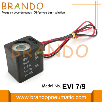 Flying Leads Solenoid Coil EVI 7/9 24VDC 4.8W