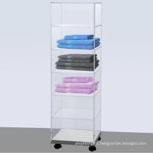 Rotatable Acrylic Storage Cabinet/Acrylic Display Rack