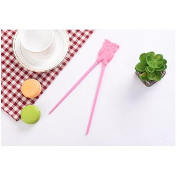 Roliga Förtjusande Portable Silicone Kids Training Chopsticks