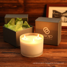 Dernières bougies de luxe de vente chaude les plus populaires avec différents parfums