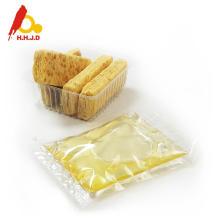Raw acacia honey on skin