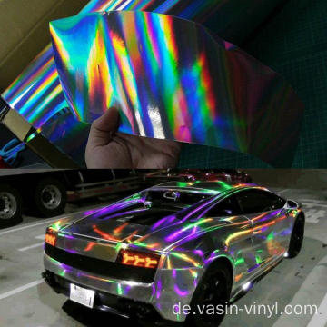 Laser Chrome Car Wrapping Vinyl Film