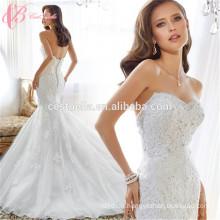 Art und Weise reizvolle weg-Schulter Nixe-Hochzeits-Kleider, die Kleider kleiden