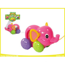 Plastic Cable Toys Elephant Without Music