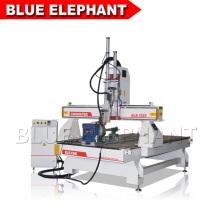 Stempelschneidene Maschine, cnc-Fräsmaschine, hölzerne cnc-Fräsermaschinen mit Mehrspindel für Verkauf