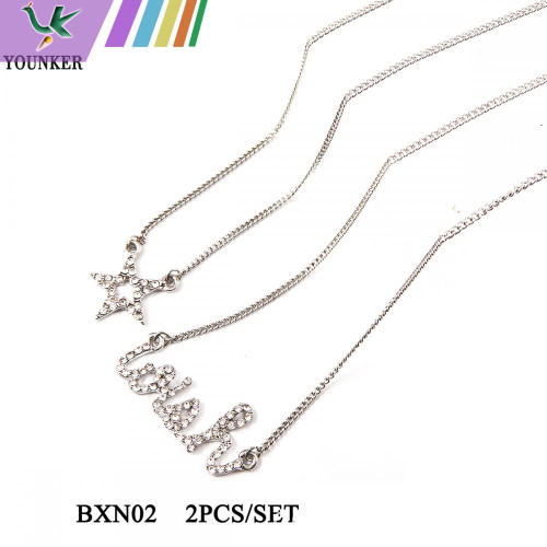 STAR SHAPE FASHION NECKLACE SET