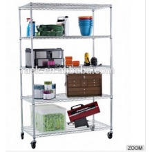 HD Commercial Kitchen Wire Shelf Rack with Casters