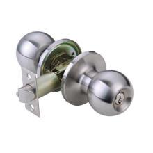 Cerradura de la puerta del acero inoxidable, cerradura de la perilla del acero inoxidable, borde Locksg6074ss