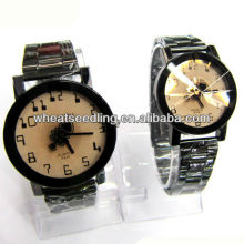 classic stainless steel strap couple watches gift set watch girls