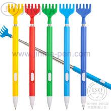 Le stylo en plastique de Promotiom multifonctionnel Jm-N01 avec un scratcheur arrière