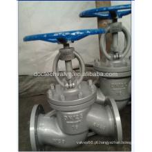 Válvula de globo aço carbono DIN