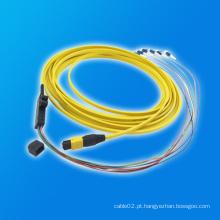 Fita de MTP-LC Fibra Óptica Patch Cord